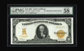 Large Size:Gold Certificates, Fr. 1167 $10 1907 Gold Certificate PMG Choice About Unc 58 EPQ.This basic design was used for the only two series of Ten Do...