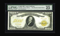 Large Size:Gold Certificates, Fr. 1219e $1000 1907 Gold Certificate PMG Very Fine 25. This note is listed in the census as a VF, with its only pedigree hi...