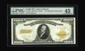 Large Size:Gold Certificates, Fr. 1220 $1000 1922 Gold Certificate PMG Choice Extremely Fine 45.A gorgeous Thousand Dollar Gold, with beautifully bright ...