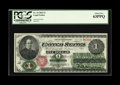 Fr. 16 $1 1862 Legal Tender PCGS Choice New 63PPQ. Lots of color, and although it's not perfectly centered, the note is...