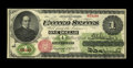 Large Size:Legal Tender Notes, Fr. 17a $1 1862 Legal Tender Very Fine. This perfectly original note was stored in the best conditions over the last one hun...