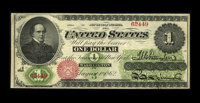 Fr. 17a $1 1862 Legal Tender Very Fine. This perfectly original note was stored in the best conditions over the last one...