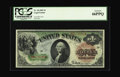 Large Size:Legal Tender Notes, Fr. 18 $1 1869 Legal Tender PCGS Gem New 66PPQ. This near-Superbissue has not previously been reported. With perfectly orig...