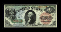 Fr. 18 $1 1869 Legal Tender Choice New. The originality of the paper on this issue is readily apparent, with fresh and o...