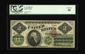 Large Size:Legal Tender Notes, Fr. 41 $2 1862 Legal Tender PCGS Gem New 66. This 1862 Deuce hasabsolutely perfect color of both the paper and inks. The ce...