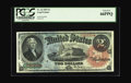 Large Size:Legal Tender Notes, Fr. 42 $2 1869 Legal Tender PCGS Gem New 66PPQ. Simply one of thefinest examples of its kind that this cataloger has had th...