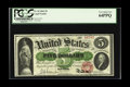 Large Size:Legal Tender Notes, Fr. 62 $5 1862 Legal Tender PCGS Very Choice New 64PPQ. This is thehighest graded example of this Friedberg number that we ...