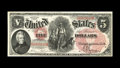 Fr. 68 $5 1875 Legal Tender Superb Gem New. Less than 90 examples are known for this design type. Along with its terrifi...