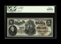 Large Size:Legal Tender Notes, Fr. 71 $5 1880 Legal Tender PCGS Gem New 66PPQ. Broadly margined,bright and strictly original, this Large Brown Seal Pionee...
