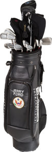 Political:Presidential Relics, Gerald Ford: Set of Presidential Golf Clubs....
