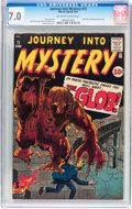 Golden Age (1938-1955):Horror, Journey Into Mystery #72 (Marvel, 1961) CGC FN/VF 7.0 Off-white towhite pages....