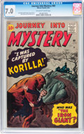 Silver Age (1956-1969):Horror, Journey Into Mystery #69 (Marvel, 1961) CGC FN/VF 7.0 Off-white towhite pages....