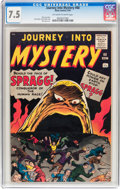 Silver Age (1956-1969):Horror, Journey Into Mystery #68 (Atlas, 1961) CGC VF- 7.5 Off-white towhite pages....
