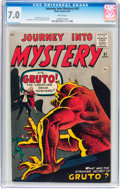 Silver Age (1956-1969):Horror, Journey Into Mystery #67 (Atlas, 1961) CGC FN/VF 7.0 Whitepages....