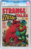 Silver Age (1956-1969):Horror, Strange Tales #88 (Marvel, 1961) CGC FN/VF 7.0 Off-white to whitepages....