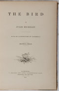 Books:Natural History Books & Prints, Jules Michelet. The Bird. Nelson and Sons, 1870. First edition, revised. Half leather with rubbing and light wear. F...