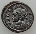 Ancients:Ancient Lots  , Ancients: ROMAN EMPIRE. Constantine I (AD 307-337) - Anonymous Issue (ca. AD 330-348). Lot of two (2) Æ coins.... (Total: 2 coins)
