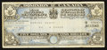 Miscellaneous:Other, Dominion of Canada $5 War Savings Certificate 15.4.1942 Dunn951bh1. ...