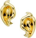 Estate Jewelry:Earrings, Gold Earrings, Elsa Peretti for Tiffany & Co.. ...