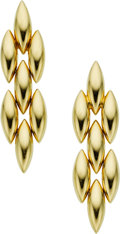 Estate Jewelry:Earrings, Gold Earrings, Cartier. ...