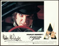 "Movie Posters:Science Fiction, A Clockwork Orange (Warner Brothers, 1971). Autographed Lobby Card Set of 13 (11"" X 14"").. ... (Total: 13 Items)"