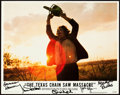 """Movie Posters:Horror, The Texas Chainsaw Massacre (Bryanston, 1974). Autographed LobbyCard Set of 8 (11"""" X 14"""").. ... (Total: 8 Items)"""