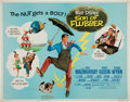 "Memorabilia:Movie-Related, ""Son of Flubber"" Half Sheet 1970 Reprint Movie Poster (Walt Disney,1962/70) Condition: FN...."