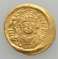 Ancients:Byzantine, Ancients: Justin II (AD 565-578). AV solidus (4.51 gm). ...