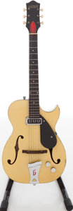 Musical Instruments:Electric Guitars, Circa 1959 Gretsch Rambler Cream Semi-Hollow Body Electric Guitar, Serial # 23080. ...