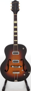 Musical Instruments:Acoustic Guitars, 1953 Gretsch Model 6187-8 Electromatic Sunburst Archtop ElectricGuitar, Serial # 8758.. ...