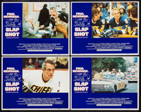 "Slap Shot (Universal, 1977). Lobby Card Set of 4 (11"" X 14""). Sports. ... (Total: 4 Items)"