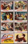 "Movie Posters:Musical, Brigadoon (MGM, 1954). Lobby Card Set of 8 (11"" X 14""). Musical..... (Total: 8 Items)"