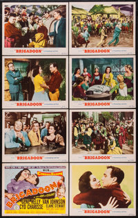 "Brigadoon (MGM, 1954). Lobby Card Set of 8 (11"" X 14""). Musical. ... (Total: 8 Items)"