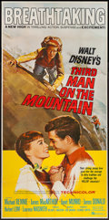 "Movie Posters:Adventure, Third Man on the Mountain & Other Lot (Buena Vista, 1959).Three Sheet (42"" X 84.5"") & Poster (40"" X 59.5""). Adventure..... (Total: 2 Items)"
