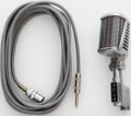 Musical Instruments:Acoustic Guitars, 1950s Astatic Model 77 Dynamic Microphone. . ...