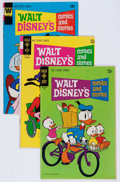 Bronze Age (1970-1979):Cartoon Character, Walt Disney's Comics and Stories Group (Gold Key/Gladstone,1970-95) Condition: Average VF.... (Total: 71 Comic Books)