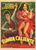 "Movie Posters:Musical, Rumba Caliente (Mier and Brooks, 1952). Artist Ernesto GarciaCabral Mexican One Sheet (26.75"" X 36.5"").. ..."
