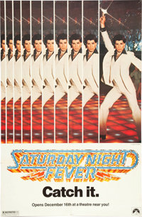 "Saturday Night Fever (Paramount, 1977). One Sheet (29.5"" X 44.75"") Advance"