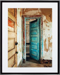 American:Modern, CHRISTOPHER BARNES (American, 20th Century). Blue Door, GeneralHospital Building, 1987. Exhibition C - print. 11 x 16 i...