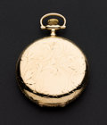 Timepieces:Pocket (post 1900), Elgin 14k Gold 16 Size Hunter Case. ...