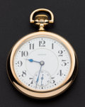 Timepieces:Pocket (post 1900), E. Howard Watch Co. 21 Jewel Series 10 . ...