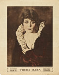 """Movie Posters:Photo, Theda Bara (Fox, 1916). Personality Poster (22"""" X 28"""").. ..."""