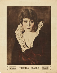 "Theda Bara (Fox, 1916). Personality Poster (22"" X 28"")"