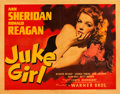 "Movie Posters:Bad Girl, Juke Girl (Warner Brothers, 1942). Half Sheet (22"" X 28"").. ..."