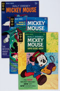 Bronze Age (1970-1979):Cartoon Character, Mickey Mouse Group (Gold Key, 1966-90) Condition: Average VF-....(Total: 62 Comic Books)