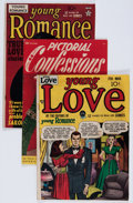 Golden Age (1938-1955):Romance, Comic Books - Assorted Golden Age Romance Comics Group (VariousPublishers, 1947-49) Condition: Average VG.... (Total: 10 ComicBooks)