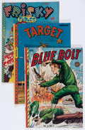 Golden Age (1938-1955):Miscellaneous, Novelty Press Group (Novelty Press, 1947-48) Condition: Average VG+.... (Total: 19 Comic Books)