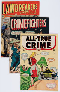 Timely Golden Age Crime Comics Group (Timely, 1948-49) Condition: Average VG+.... (Total: 8 Comic Books)