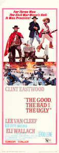 "Movie Posters:Western, The Good, the Bad and the Ugly (United Artists, 1968). Insert (14"" X 36"").. ..."