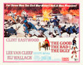 "Movie Posters:Western, The Good, the Bad and the Ugly (United Artists, 1968). Half Sheet(22"" X 28"").. ..."